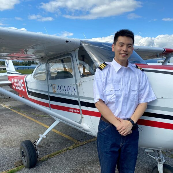 Congratulations on Passing your CPL Flight Test Steven!